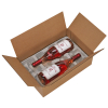 Corrugated Boxes 15 x 10 x 4.5 Use with Pulp wine 2 bottle - - alt view 1
