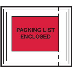 Packing Lists & Shipping Envelopes