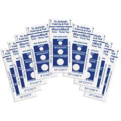 WarmMark® Temperature Tags