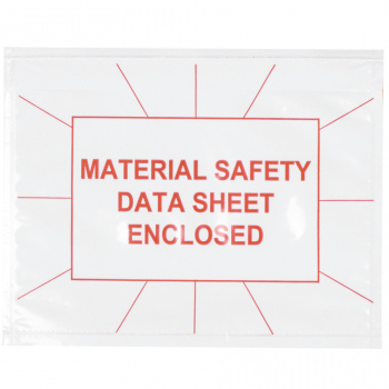 Full Face Material Safety Data Sheets Envelope