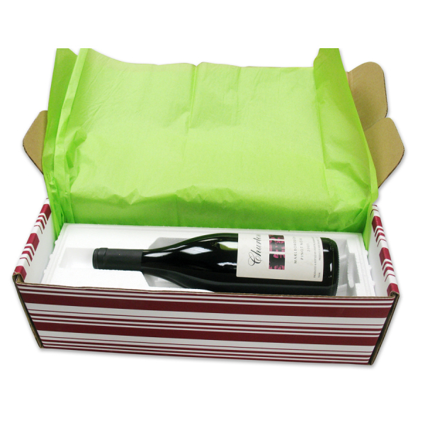 1 Bottle, 741GBD/RD Tab Locking Gift Box