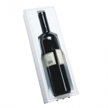Wine Bottle Shipper 743F, Fits 750ml Bottle