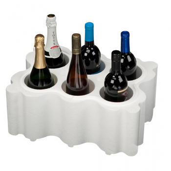 6 bottle, Wine Shipper 747T, Foam Only