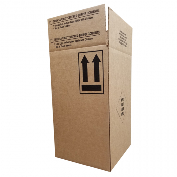 "10.125 x 10.125 x 17.125"" ID Safeway® Series UN & DOT Compliant Corrugated Box, 790/792UN/KD"