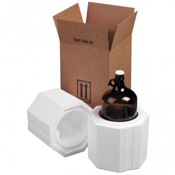 Safeway® Series UN & DOT Compliance Bottle Shipper Gallon, 790UN/NB