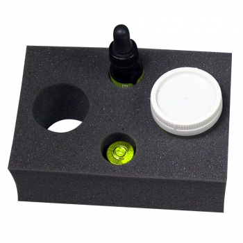 4 CAVITY INSERT, FITS 5-100ML BOTTLES & VIALS, INS/4 CAV MULTI