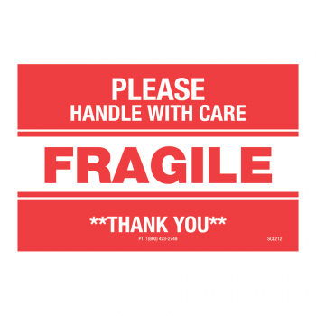 SCL 212 3 x 2 FRAGILE PLEASE HANDLE WITH CARE **THANK YOU**