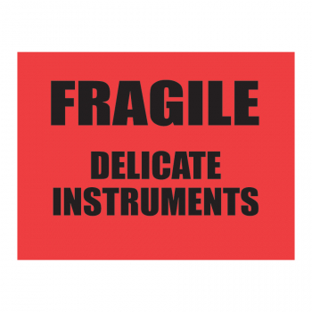 SCL 504 4 x 3 FRAGILE DELICATE INSTRUMENTS