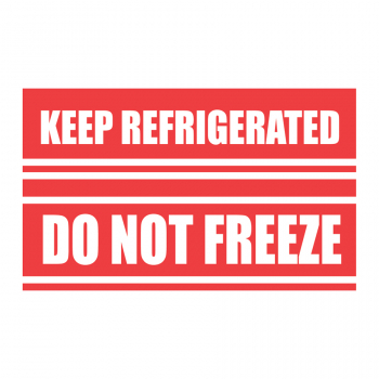 SCL 587 5 x 3 KEEP REFRIGERATED DO NOT FREEZE