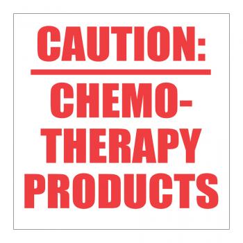 SCL 600 3 x 3 CAUTION: CHEMOTHERAPY PRODUCTS