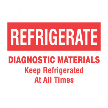 TAL 570 4 x 2.75 REFRIGERATE UPON ARRIVAL DIAGNOSTIC MATERIALS