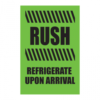 TAL 816 4 x 6 RUSH REFRIGERATE UPON ARRIVAL